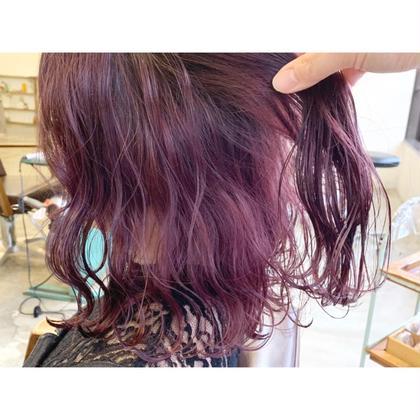 【選べるカラー💇💈】全体カラー+前髪カット