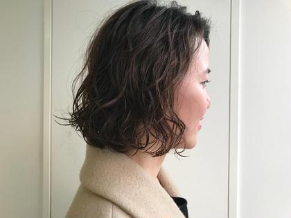 柔らかいパーマスタイル!強すぎず、ゆるやかに大きめなカールでニュアンスを出せます!! スタイリングの簡単です! 巻くのが苦手な方はご相談下さい! NARUMI(SOCO)のパーマ