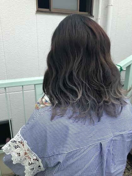 《巻き髪に相性抜群》グラデーションカラー&潤いトリートメント❣️