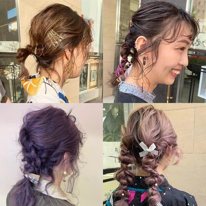 🌿人気style🌿 hair arrange🗽🎗
