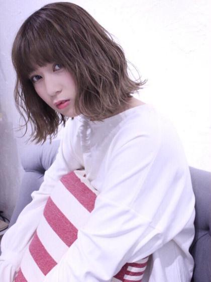 【#夏キュン】お手入れ簡単✂︎カット+スタイリング