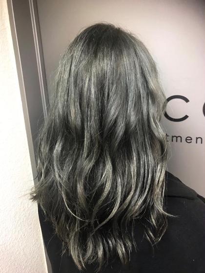 カラー セミロング cut / wcolor / greige / tokio✂︎