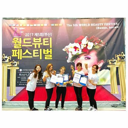 マツエク・マツパ 韓国国際大会にて、当サロン得意としているボリュームラッシュ部門2名金賞受賞‼︎ぜひボリュームラッシュをお試し下さい☆