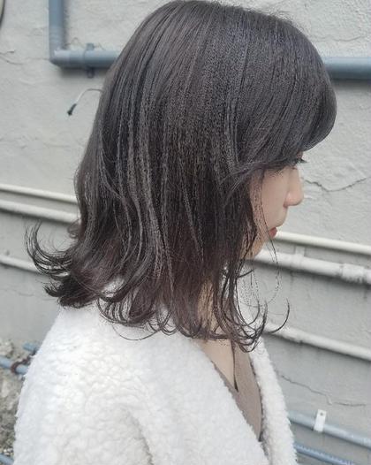 【人気No1】似合わせカット & 透け感カラー