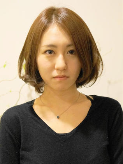 モテ・愛され毛先ワンカールボブ ACINEMAReve所属・松岡大輔のスタイル