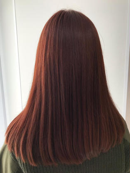 圧倒的な艶‼︎ 高円寺で髪色改善されたい方は是非‼︎ 必ず綺麗にします♫