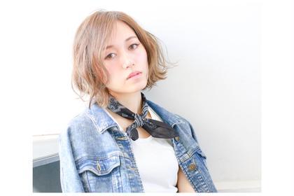 外国人風ハイライト hair&make JOJI所属・寺西亮のスタイル