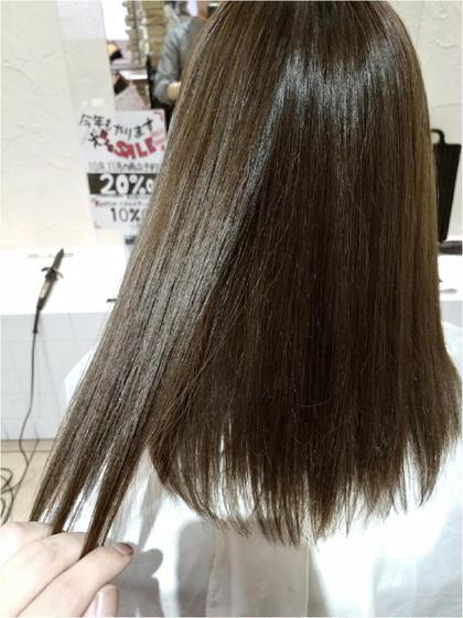 【人気no.1ダメージほぼ0♪】大人気髪質改善アディクシーカラー+極潤コラーゲン