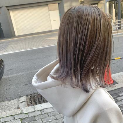 平日昼割11〜15時まで★ハイライト入れ放題🤩カラー➕質感改善TR