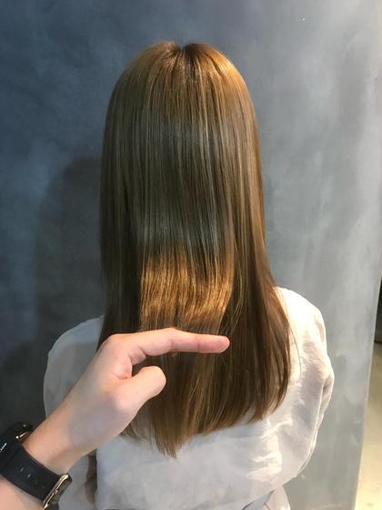 ☆カット+酸熱トリートメント☆髪の膨らみ、からみ、髪質の変化を内部からケアしていきます!店長が施術します!