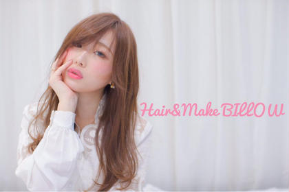 HAIR&MAKE BILLOW所属・入本翼のスタイル