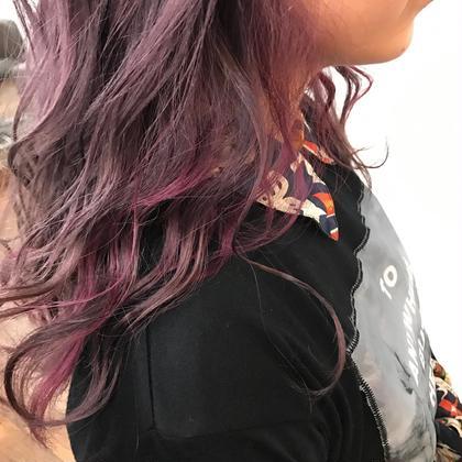 purple × pink mixcolor VEGA,所属・カワノチヒロのスタイル