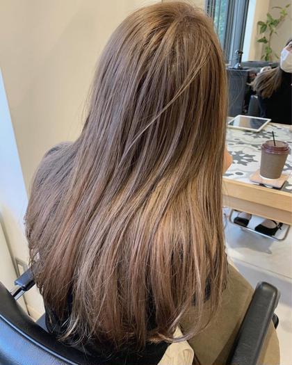 📿土日祝日限定クーポン📿 選べるケアブリーチカラー&透明感ケアカラー+髪質改善ケアトリートメント 今だけお得💡💡