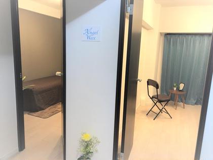 隠れ家のような個室空間で安心! お肌にも優しいソフトワックスを使用しています。