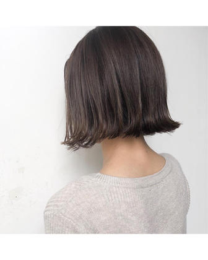 切りっぱなしボブ…♪ hair-brace所属・stylistHIIRAGIのスタイル