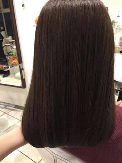 イルミナカラーを使用してます! 明るくて傷んだ髪でもつやも出て、オレンジ味が出て悩んでる方はオススメです✌︎ BONAMI 西日暮里所属・川﨑京子のスタイル