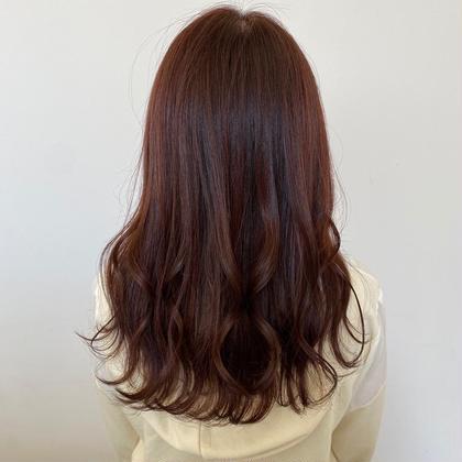『透明感カラー』+『前髪カット(¥0)』