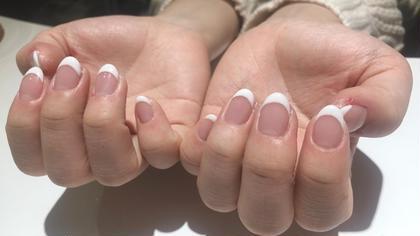 💟👻月末まで❣️キャンペーン💟🍂【Hand】カラーグラデーション、フレンチネイル