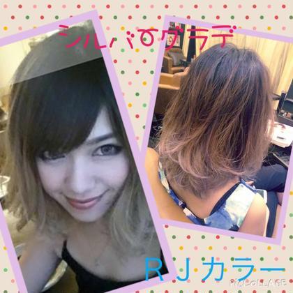 グラデーションカラー☆ お客様スタイルです☆ ENLIED所属・吉岡隆次のスタイル
