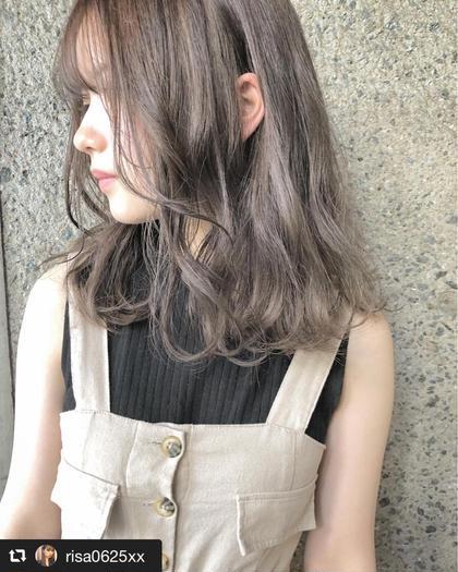 【✨理想の色に潤いを✨】シースルーカラー & 極潤キュアトリートメント(ナノスチーム付)
