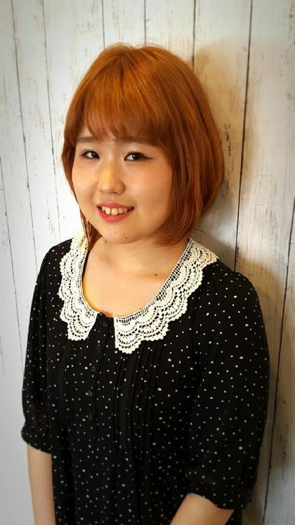 髪を明るくしたいお客様、ブリーチオンカラーで明るい印象に プログレスひばりヶ丘店所属・信澤邦夫のスタイル