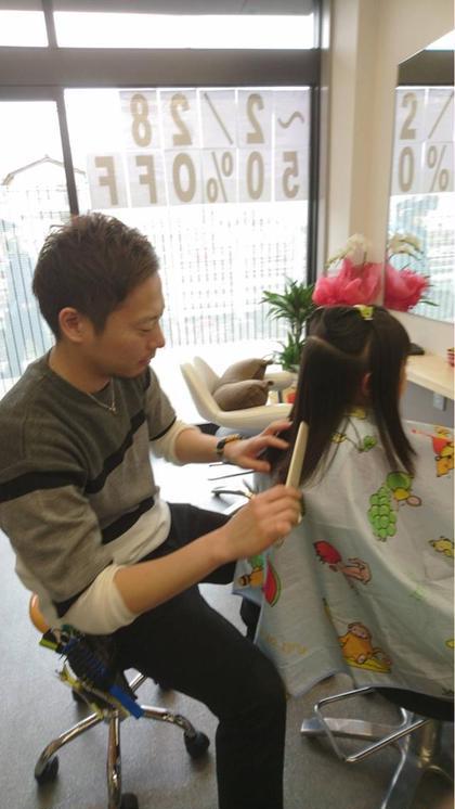 高品覚のキッズヘアスタイル・髪型