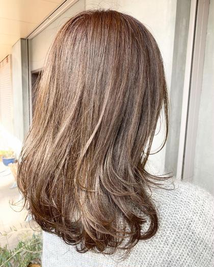 春夏に向けた透明感のあるアッシュ😊 Le blanc hair gallery所属・masa のスタイル