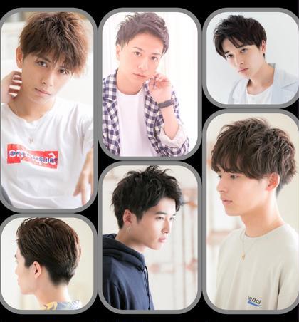 【men's】シャンプー&似合わせデザインカット¥3000