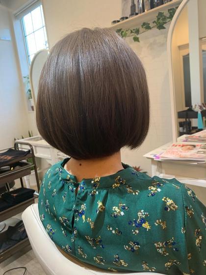 最新!髪質改善トリートメントコース+カット+カラー