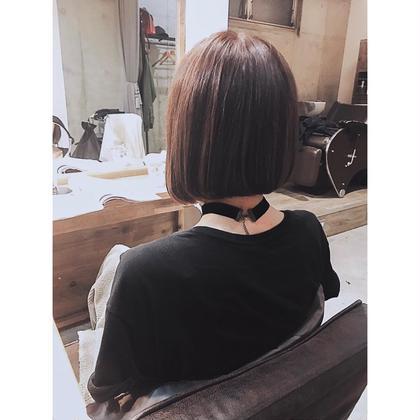 ❤️人気NO.2❤️似合わせcut&platinaカラー&4StepTOKIOtreatment