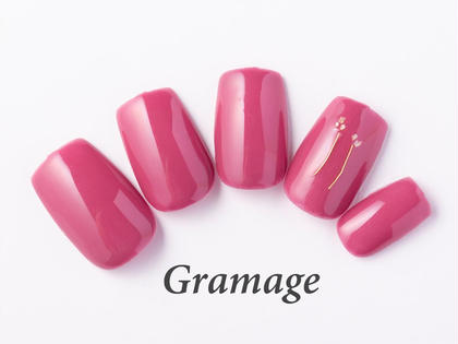 Gramage所属のGramageネイルのネイルデザイン
