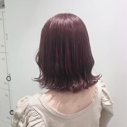 【大人気🍑期間限定🍑】🌙韓国カット&オルチャン艶カラー🌙おくれ毛や艶々なカラーでかわいく♡