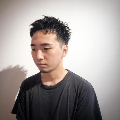ナチュラルショート 工藤靖也のメンズヘアスタイル・髪型