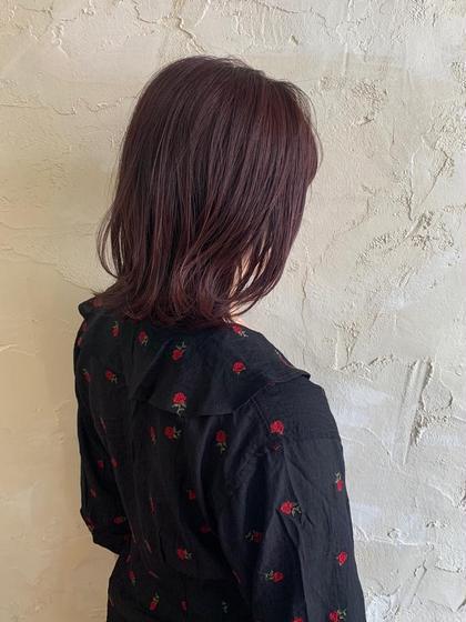髪再生ホリスティックトリートメント+うる艶カラー🐋🌷