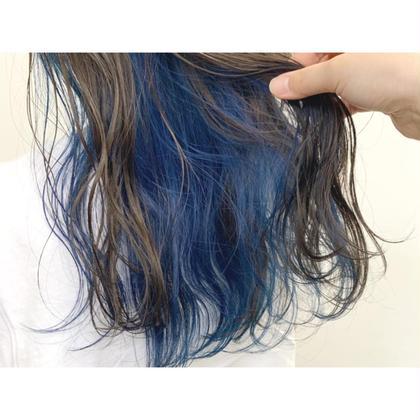 【お洒落女子必見💎】インナーカラー+全体カラー(oggi ottoケア付)+前髪カット