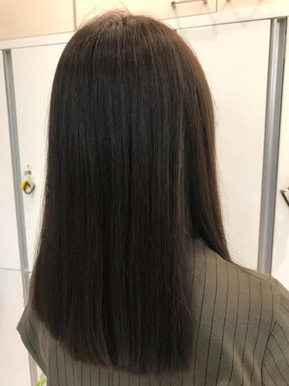 ✨ツヤツヤで朝も楽チン✨カット+縮毛矯正+極潤トリートメント❣️潤艶縮毛矯正✨最高の仕上がりに(^ ^)❤️