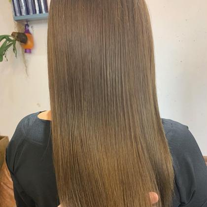 ナノストレート、縮毛矯正、炭酸泉トリートメント《ナチュラルにしっかり癖伸ばして潤いある髪の毛へ✨》