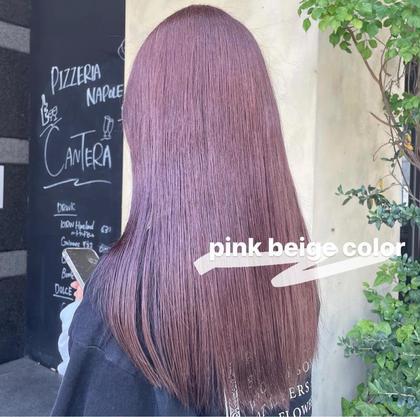 ✨6月にオススメ✨髪質改善+髪質改善カラー🌈