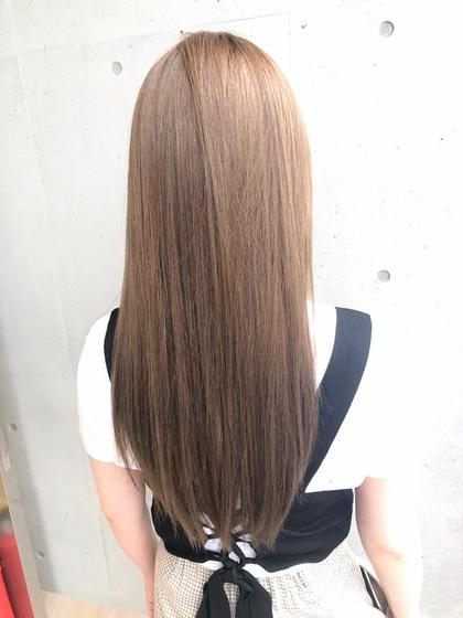 ✨1~2回目のお客様 ✨ ☆今話題の髪質改善tr☆カット+外国人風グロスカラー+最高級 TOKIOtreatment