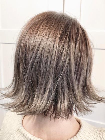 🦄派手髪を維持したい💕【ブリーチリタッチ➕イルミナカラー➕3stepTr➕メンテナンスカット】ブリーチカラー維持💓