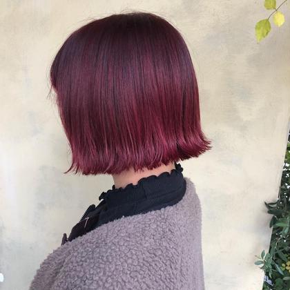 📍イメチェン📍《前髪カット+カラー》