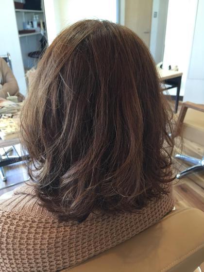 デジタルパーマで軽い動きを出しました Hair Design D.c.t所属・平田秀一のスタイル