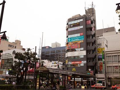 亀戸駅北口を出てすぐマクドナルドが見えます! 同じビルの7階です~☺︎ CleanBelle所属・AsadaMieのフォト