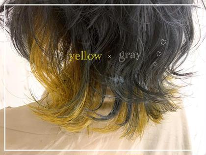 inner color ❤︎ イエロー