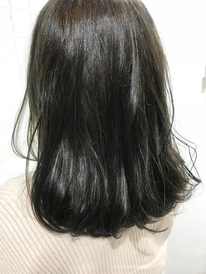 hair studio KIE./キー所属・おおいけさきのスタイル