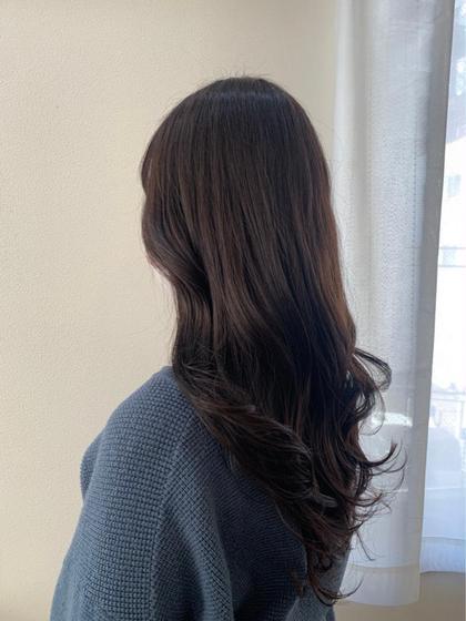 💐[就活生応援クーポン✨]韓国小顔カット+黒染めなしカラー+色持ちトリートメント