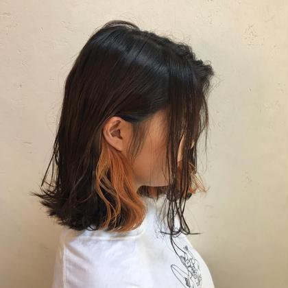 【✂️ご新規様限定✨】イヤリングカラー&全体美肌カラー+ ノーダメージ前処理💠《イルミナに変更は+1000円》