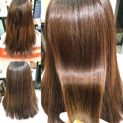 【新メニュー✨】カット、髪質改善縮毛矯正、サイエンスアクアモイスチャーカラー