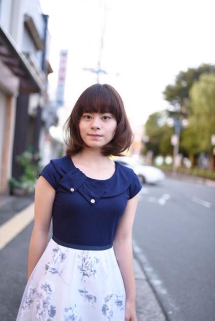 深めなブラウンカラーで女性の魅力を引き出します 仕上げは毛先に大きめなカールを、、 hamonishair所属・☆toshiのスタイル