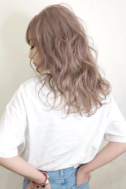 【おブスな髪から脱け出そ❤️】外国人風カラー+2stepトリートメント
